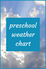 Weather Chart For Preschool Classroom Printable Kindergarten And Preschool Weather Chart