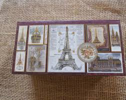 Punch Studio Magazine Holder Eiffel tower box Etsy 80