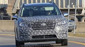 2018 subaru ascent release date. delighful release 2018 subaru ascent three row crossover suv spotted showing off its shape on subaru ascent release date