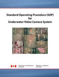 Standard Operating Proceeduresop For
