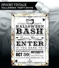 Free Halloween Birthday Invitation Templates Free Halloween Invitation Templates Freemuz Me