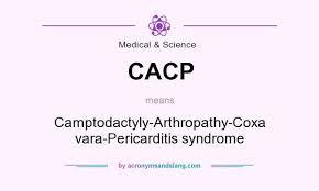 Coxa Vara Cacp Camptodactyly Arthropathy Coxa Vara Pericarditis