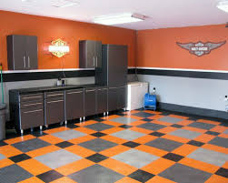 Grey And Black Garage Wall Paint Colors Contrasting Design Ideas