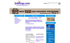 Jobkings Com Website Free Resume And Job Posting
