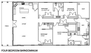 40 60 pole barn floor plans living quarters