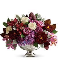 quick view teleflora s beautiful harvest centerpiece flower arrangement