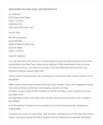 Writing A Cover Letter For A Job With No Experience Resume Cover