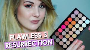 makeup revolution flawless 3 resurrection review swatches missbeautyemily