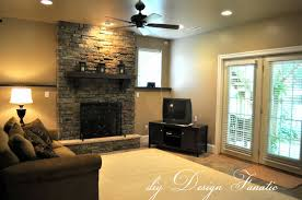 awesome basement interior design ideas beautiful family room in a basement with slate stone fireplace