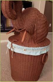 Full Image for Stupendous Elephant Wicker Hamper 55 Elephant Rattan Laundry Hamper  Elephant Wicker Hamper ...