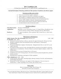 Help Desk Resume Examples Cover Letter It Help Desk Resume Samples Free Specialist With And 8