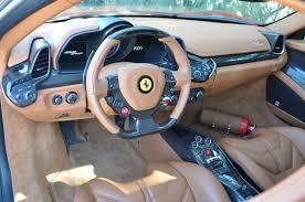 ferrari 458 white interior. ferrari 458 spider interior white