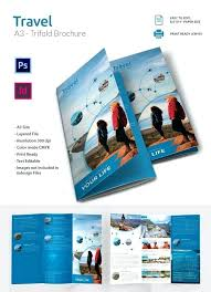 Travel Agency Brochure Examples Booklet Template Findspeed
