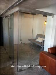creative office partitions. Frameless Door System For Flexible Study Room, Single Flying Swing (hidden) With Side Glass Feature Wall / Curtain Creative Office Partitions