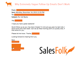 email followup why extremely vague follow up emails dont work salesfolk