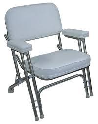 wise 710 folding double leg deck chair w aluminum frame white