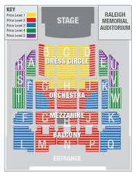 Carolina Seating Chart Seating Chart Nc Theatre