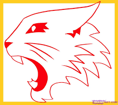 Small Picture How To Draw Wild Cats High School Musical Wildcats Logo 1