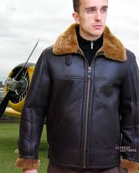hurricane men s sheepskin flying jackets