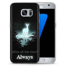 Samsung Quote Gorgeous HARRY POTTER PATRONUS SNAPE ALWAYS QUOTE CASE COVER FITS FOR SAMSUNG