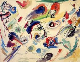 Wassily Kandinsky — Untitled (First Abstract Watercolor), 1910