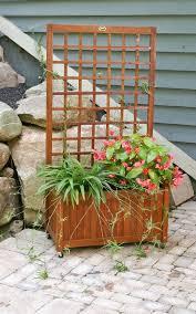 18 best trellis planter box images on lattice planter box