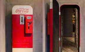 How To Load A Coke Vending Machine Enchanting Flask Is A Bar Hidden Behind A CocaCola Vending Machine Cool Material