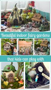 make beautiful indoor fairy gardens
