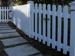 picket fence design. Photo 02 - Level Top Picket Picket Fence Design N