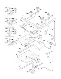 frigidaire plgf389aca gas range timer stove clocks and appliance plgf389aca gas range burner parts diagram