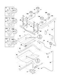 frigidaire plgfaca gas range timer stove clocks and appliance plgf389aca gas range burner parts diagram