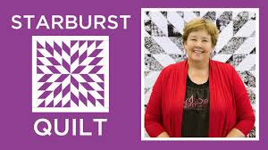 Make an Easy Starburst Quilt with Jenny - YouTube &  Adamdwight.com
