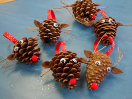 Pine Cone Christmas Decorations Getting Messy With Ms Jessi Preschool Made Christmas Making