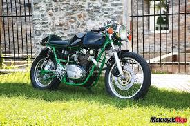 yamaha xs650 café racer motorcycle
