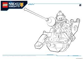 Small Picture Lego Nexo Knights Lance 1 Coloring pages Printable