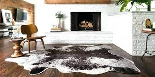 good ikea cowhide rug and home and furniture attractive faux cowhide rug ikea of stunning samples