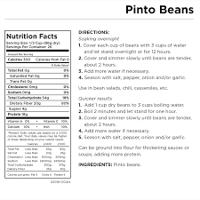 augason farms pinto beans can