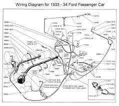 flathead electrical wiring diagrams wiring diagram for 1933 34 ford