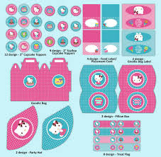 hello kitty birthday party printables hello kitty party images supplies decorations hello kitty