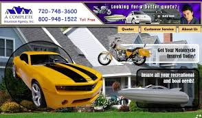 a complete auto insurance header