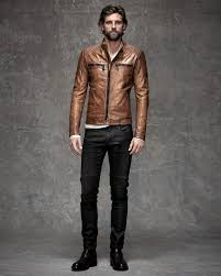 rj rogenski models belstaff leather fashions