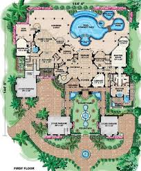 Floor Plan Mansion