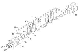 Led christmas light string wiring diagram