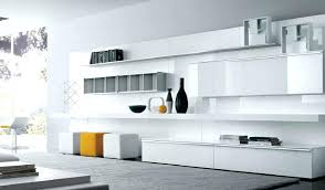mesmerizing full wall shelving unit living room storage