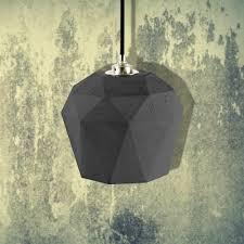 concrete lights geometric pendant light concrete lighting
