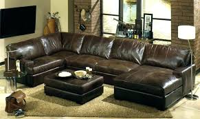 faux leather sectional. Brown Faux Leather Sectional Colored Sofas Sofa Living Room Ideas