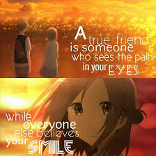 Anime Quotes About Friendship Mesmerizing Anime Friendship Day Quotes 48 Images Friend Quotes Quotesgram