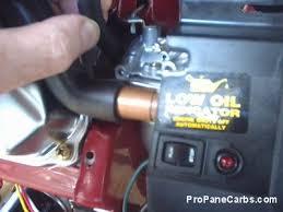safety shut off installation generator dual fuel propane conversion
