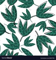 Abstract green leaves wallpaper on ...