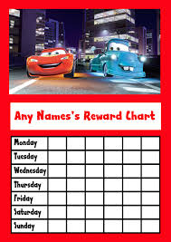 Minecraft Star Chart Cars Star Sticker Reward Chart Reward Chart Kids Sticker